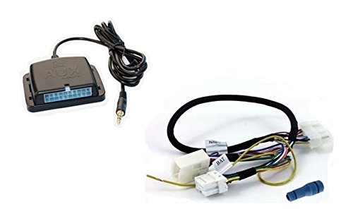 Select 99+ Nissan Infiniti GROM Audio MP3 Smartphone Auxiliary Adapter Kit #NISCDCA1