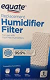 Equate Replacement Humidifier Filter for use with Cool Mist Humidifiers for use with EQ2119-UL, ProCare PCCM-832N, ReliOn-RCM-832 & 832N, Robitussin DH-832, Duracraft DH-830, SS SH100&SH200