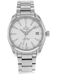 Mens 231.10.42.21.02.001 Seamaster Silver Dial Watch · Omega