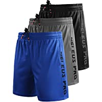 Neleus Men's Lightweight Workout Running Athletic Shorts Pockets