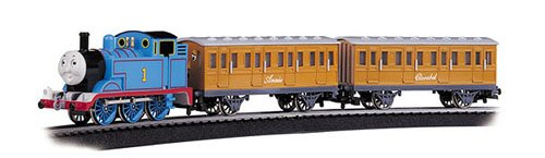 - Bachmann Trains Thomas with Annie and Clarabel Ready-to-Run Large Scale Train Set