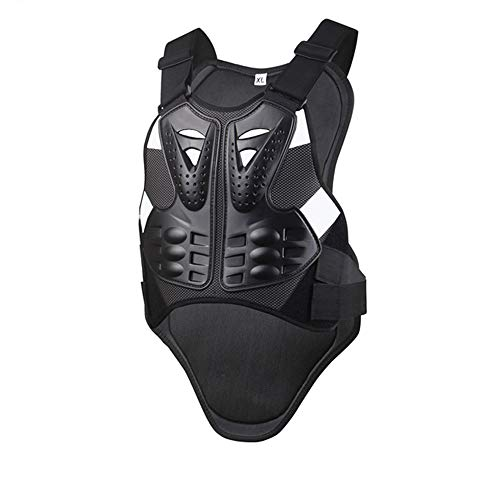 NCBH Motorcycles Armor Anti-Collision,Roller Skating Protection Spine,Protection Spine Combination Sports Protective Gear Armor Racing Vest,XL