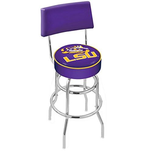 Holland Bar Stool L7C4 Louisiana State University Swivel Counter Stool, 25