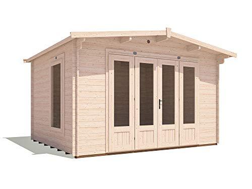 12x10 Log Cabin Garden Office Kit
