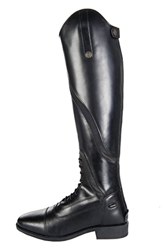 Short Gijón Riding HKM Boots Black Standard Size qatxZp