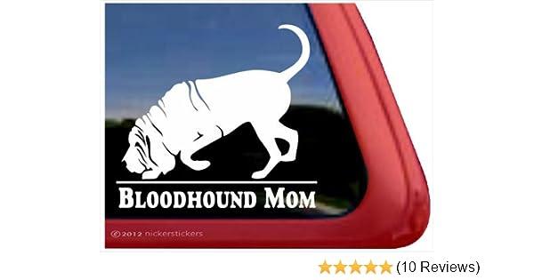Support a Bloodhound-Get Lost!High Quality Vinyl Dog Window Decal Sticker
