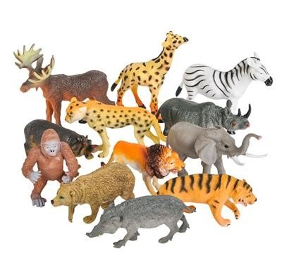 Neliblu Realistic Animal Toy Figures - 3