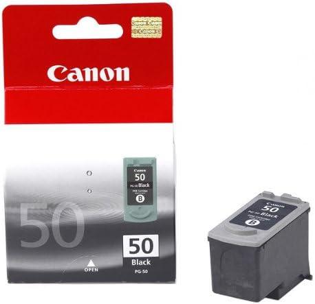 Canon PG-50 Black - Cartucho de Tinta Negra: Amazon.es: Oficina y papelería