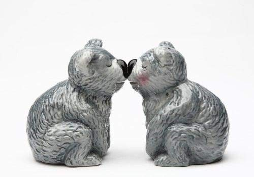 ShopForAllYou Figurines and Statues Magnetic Salt and Pepper Shaker - Koala Bears