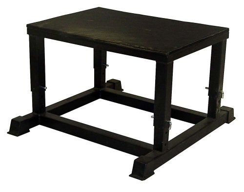 Ader Plyometric Platform Box- Adjustable 14''-16''-18''-20'' by Ader Sporting Goods