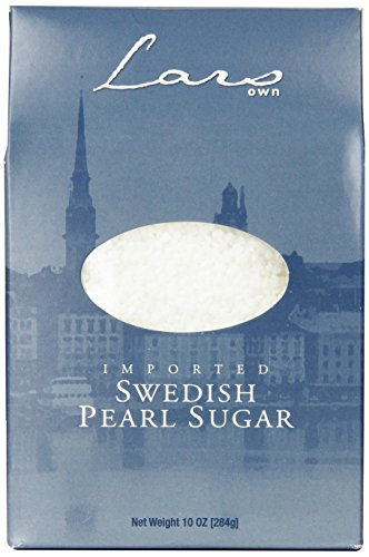 Lars' Own Swedish Pearl Sugar, 10 Ounce (Swedish Sugar Cookies)