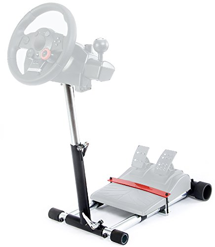 Wheel Stand Pro V2 Racing Steering Wheelstand Compatible With Logitech Driving Force Pro, GT, EX and DriveFX Wheels (Not compatible with G920, G29, G27, G25). Wheel/Pedals Not included. ()