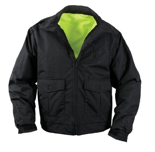 Rothco Reversible Hi-Visibility Uniform Jacket, 3X by Rothco (Image #2)