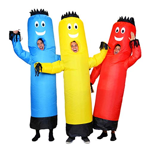 LookOurWay Air Dancers Inflatable Tube Man Costume, Red - http://coolthings.us