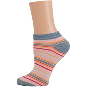 Womens Low Cut Socks 10 Pairs of Solid Colors- No Show Socks (9-11, Assorted)