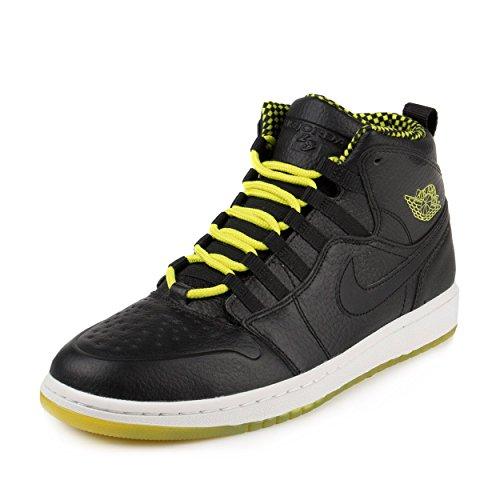 Nike Jordan Men's Air Jordan 1 Retro '94 Black/Venom Green/Black Basketball Shoe 8.5 Men US