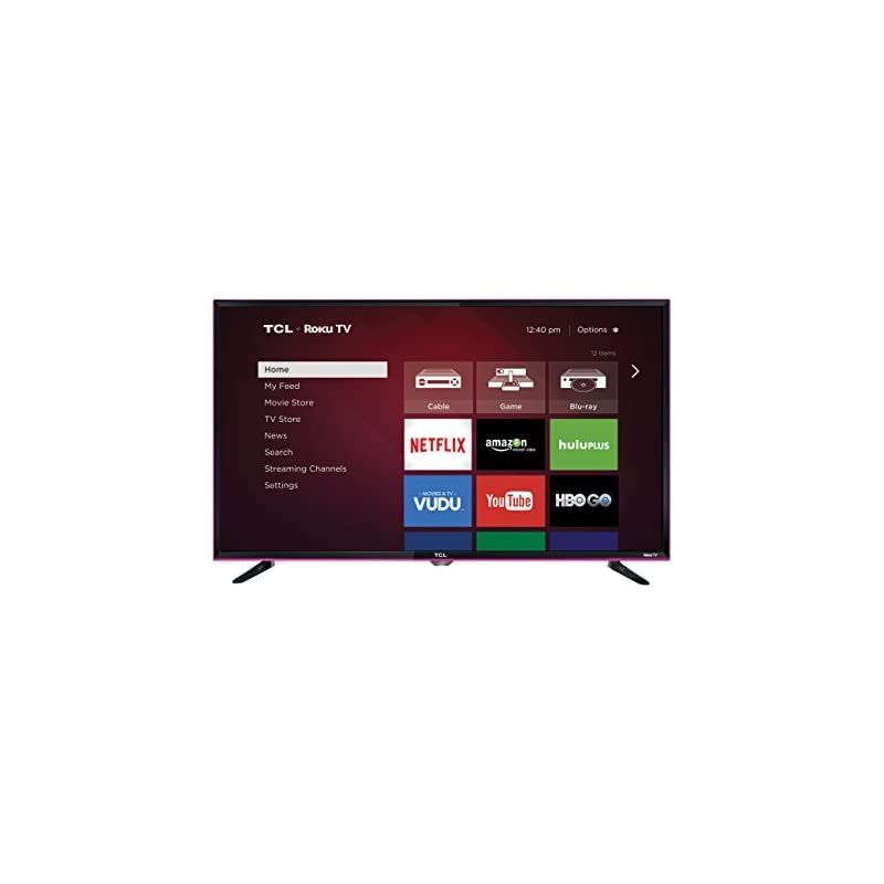 TCL 32S3850P 32-Inch 720p Roku Smart LED TV (Pink) (2015 Model)