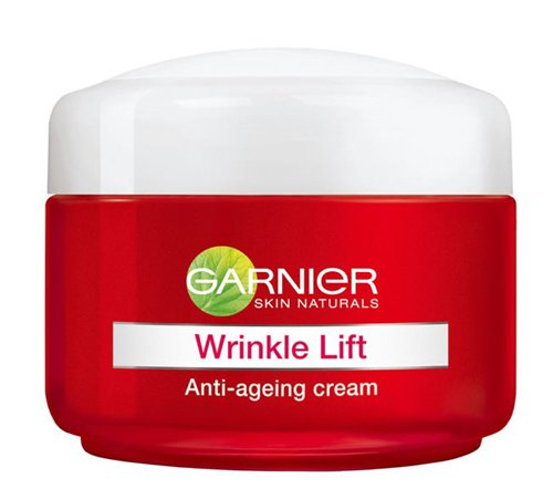 Garnier Wrinkle Lift Anti-ageing Cream targets the different signs of ageing: wrinkles