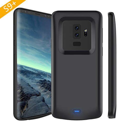 Galaxy S9 Plus Battery Case, Stoon 5200mAh Portable Charger Case Rechargeable Extended Battery Pack Protective Backup Charging Case Cover for Samsung Galaxy S9 Plus(6.2 Inch)