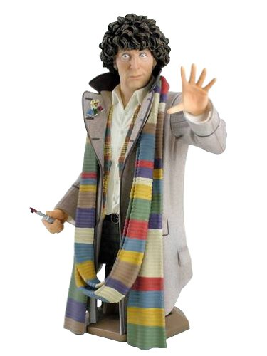DOCTOR WHO 4TH DOCTOR TOM BAKER MINI BUST TITAN MERCHANDISE MAY111792
