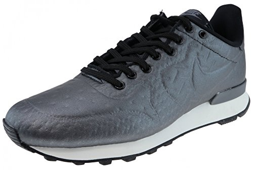Nike Internationalist Jcrd Wntr Damesschoenen 859544 Metallic Hematiet / Zwart / Donkergrijs