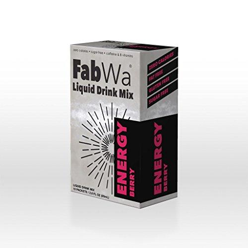 FabWa Liquid Energy Drink Mix - Berry - Single Box