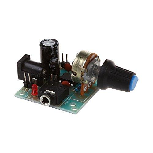 SODIAL 3V-12V LM386 Super MINI Amplifier Board DC Amplifier Amplifier Modules Speaker