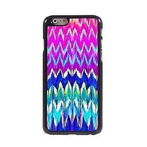 QYF Colorful Ripple Design Aluminium Hard Case for iPhone 6 Plus