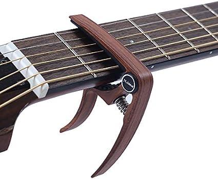Cejilla de guitarra de metal para guitarra, ukelele, tuning ...