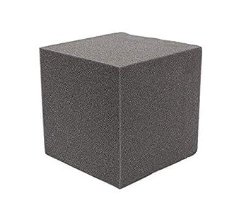 MYAMIA 2Pcs 20x Insonorizada Espuma Absorción Cubo Estudio Acústica Sala De Música Tratar 20x20x20Cm: Amazon.es: Hogar