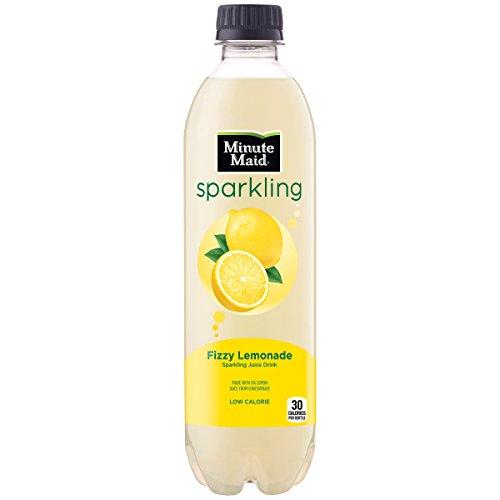 Minute Maid Sparkling, Fizzy Lemonade, 16.9 fl oz, 12 Pack