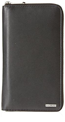 Document holder leather man wallet BIKKEMBERGS item 7BDD9110 DB-METAL PLATE 2.0 (Men Bikkembergs Shoes)