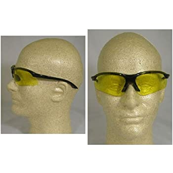 Pyramex Safety Glasses OTS XL Gray Lens with Black Temples S7520SJ
