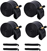 """BWSHLF 26"""",29"""" Mountain Bike Inner Tubes (4 Pack), Durable Butyl Rubber MTB Bicycle Replacement with"""
