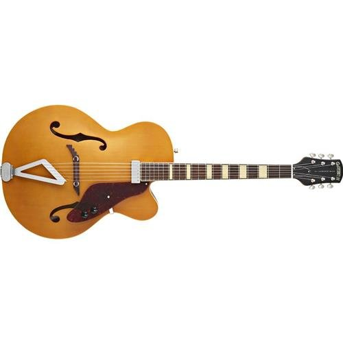 Gretsch G100CE Synchromatic Archtop Cutaway Acoustic Electric Guitar, Natural Gretsch Cutaway Guitar