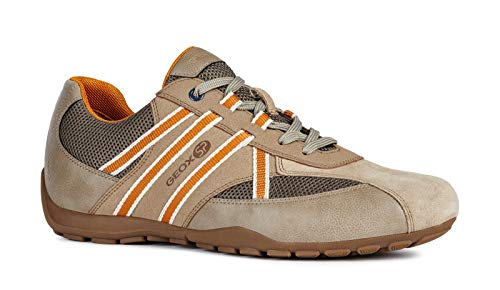 Sport chaussures Grey Ravex Baskets Geox chaussures Chaussures dove Homme Lacets Sand L'air À perméable De Mode gars faible U923fb xUPPwdRv
