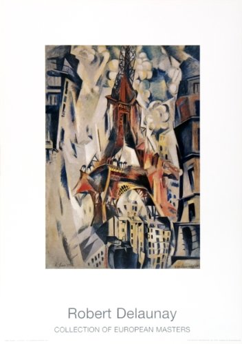 (Robert Delaunay-Eiffel Tower-1997 Poster)