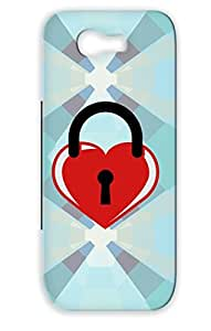 Tear-resistant Heart Wedding Ring Hearts Broken Cool Hot Key Closed Love Lock Locked Red Heart Love Case For Sumsang Galaxy Note 2
