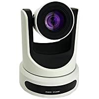 PTZOptics PT20X-USB | 20X Optical Zoom 1080p HDMI USB 3.0 IP CVBS Outputs Pan Tilt Zoom Camera White