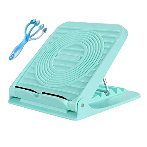 - Croing Adjustable Slant Board - Calf Stretch Board - Hamstring Stretcher - Achilles Stretching with 1 Free Massager Roller
