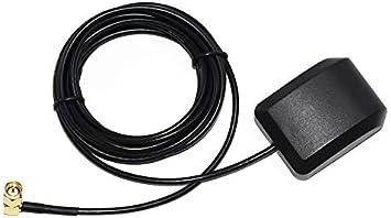 Antena Activa GPS Impermeable de 28 db de Ganancia LNA, Cable de extensión de Antena SMA Macho, más Fuerte