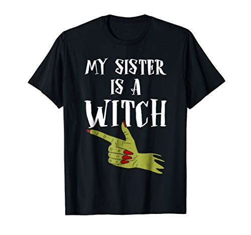 My Sister Is A Witch Brother T-Shirt -