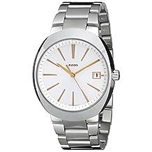 Rado Men's R15943123 D Star XL Analog Display Swiss Quartz Silver Watch