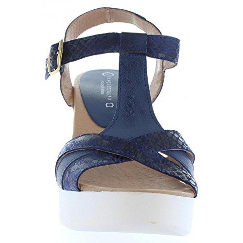 Sandalias de Mujer VAQUETILLAS 20159 COMBI NAPA AZUL
