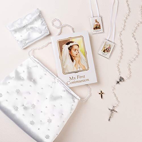 Joseph's Studio First Communion Purse Set w/Rosary & Accessories