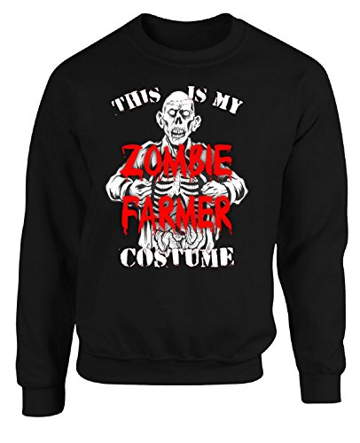 Halloween This Is My Zombie Farmer Scary Creepy Costume - Adult Sweatshirt