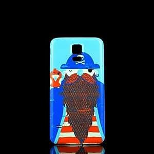 GX Teléfono Móvil Samsung - Cobertor Posterior - Gráfico/Diseño Especial - para Samsung S5 i9600 Plástico )