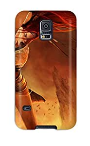 Galaxy Case - Tpu Case Protective For Galaxy S5- Heavenly Sword by icecream design