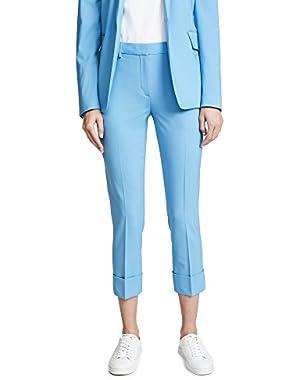 Women's Crop Cuff Pants