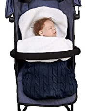 Winter 3-in-1 kinderwagen slaapzak Fu?sack stoelkussen, winddicht, waterdicht, baby meisjes jongens warme deken babydeken universeel voor babyzitje, autostoel, kinderwagen of babybed